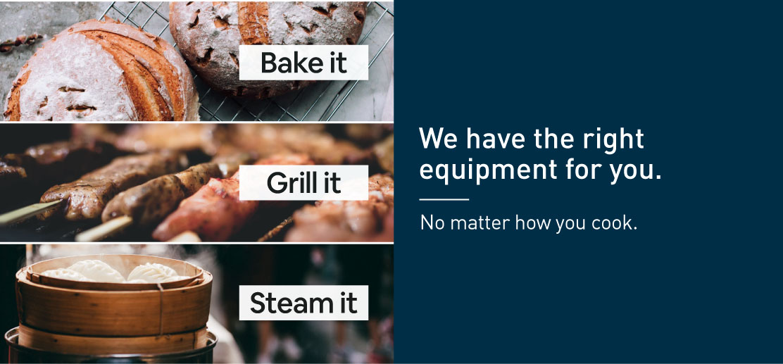 Catering and commercial cooking Equipment