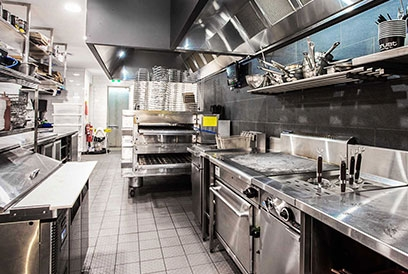 Pizza restaurant fit out